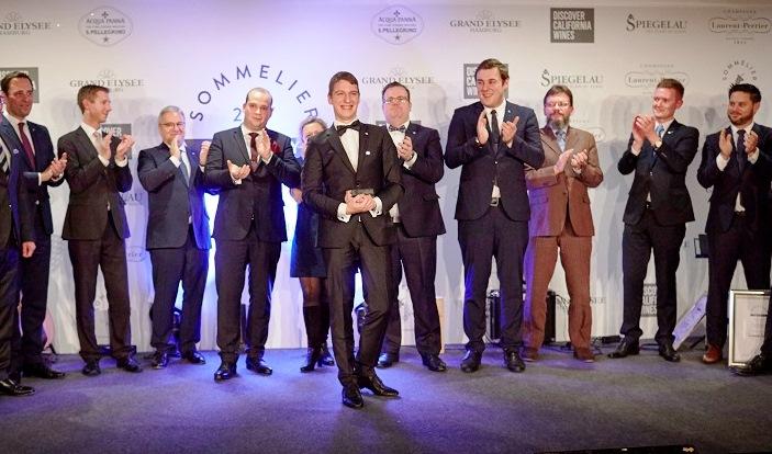 Marc Almert gewinnt die Sommelier-Trophy 2017