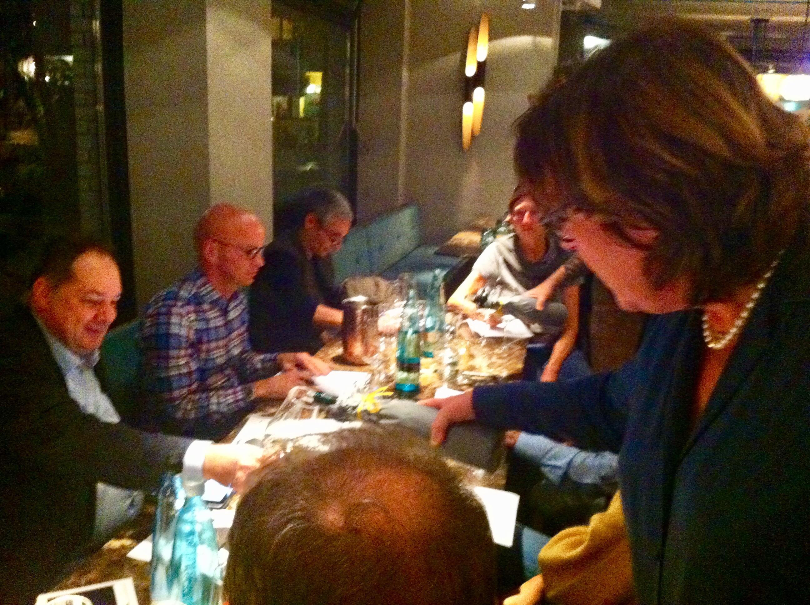 Hamburger Szene trifft den Club der Weinakademiker
